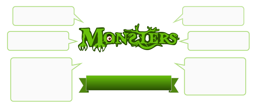 Monsters Menu
